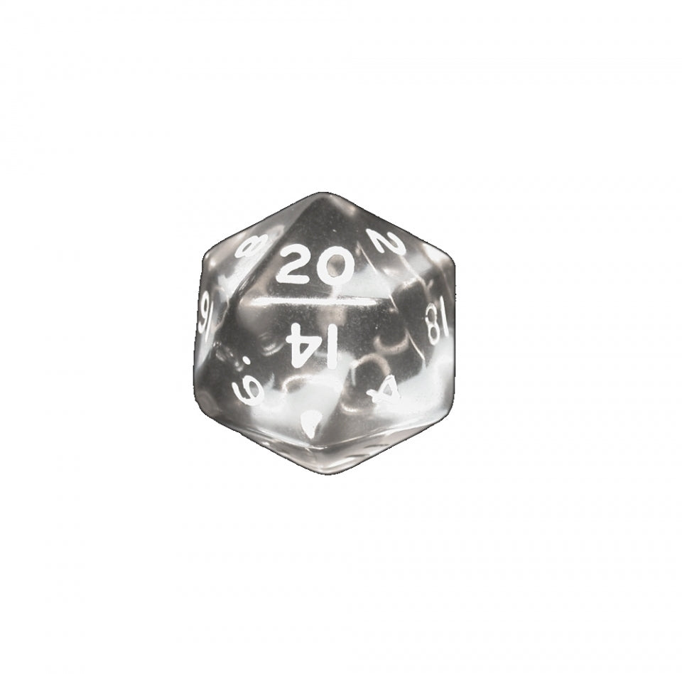7 piece Fantasy Translucent Smoke Dice