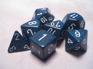 CHX25346: Stealth Speckled Polyhedral 7-Die Set