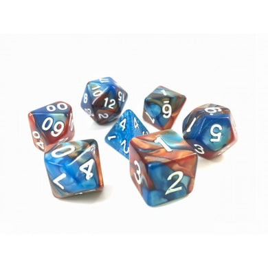 HD Dice Blue+Gold Blend Dice