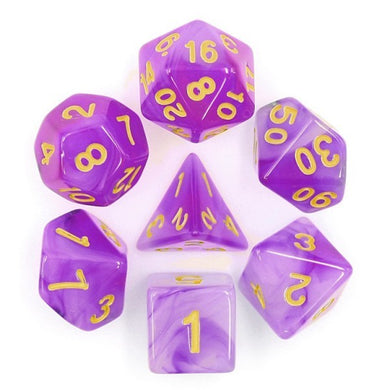 HD Dice Purple Milky Dice