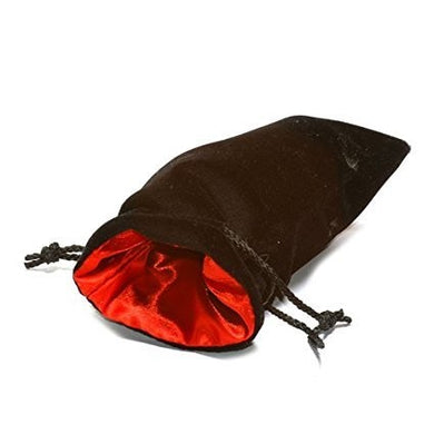 Black Velvet Bag: Red Satin Lining (5
