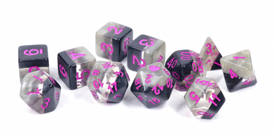 HeartBeat Dice: Demisexual Pride Set