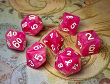 Load image into Gallery viewer, HeartBeat Dice: Breast Cancer Awareness Dice Set
