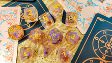 Load image into Gallery viewer, HeartBeat Dice: Moonweaver's Reign Dice Set