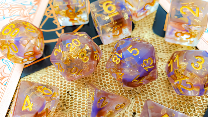 HeartBeat Dice: Moonweaver's Reign Dice Set