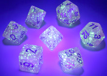 Load image into Gallery viewer, CHX27584 Luminary Borealis Polyhedral Pink/silver 7-Die Set
