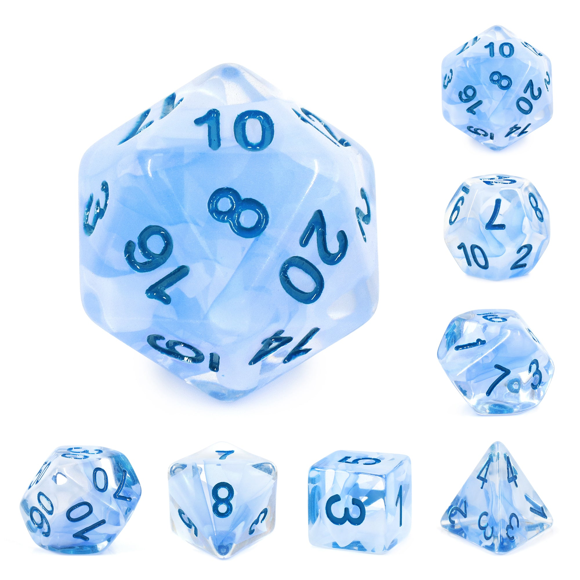 Sea Mist Dice Set