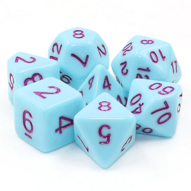 HD Dice: Blue Jay (purple font)