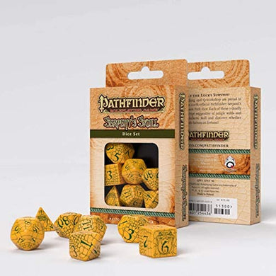 Pathfinder Serpents Skull Dice Set