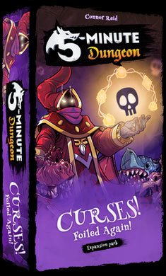 5-Minute Dungeon - Curses Expansion