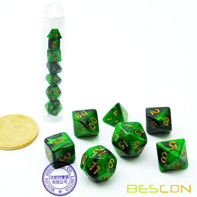 Bescon Dice: Marsh Land Gemini Mini Dice Set