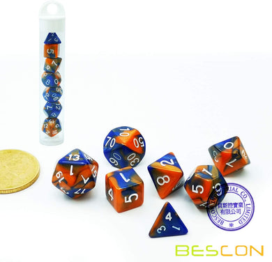 Bescon Dice: Hot Melt Gemini Mini Dice Set