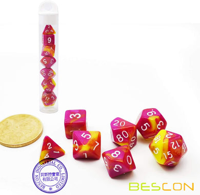 Bescon Dice: Candy Fable Gemini Mini Dice Set