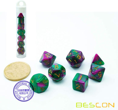 Bescon Dice: Wizard Jungle Gemini Mini Dice Set