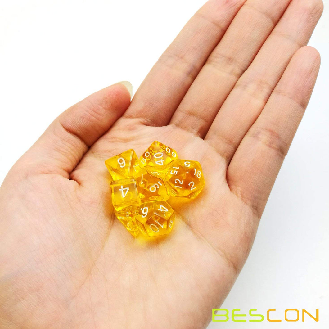 Bescon Dice: Yellow Mini Dice Set