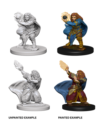 D&D Nolzurs Marvelous Unpainted Miniatures Dwarf Female Wizard