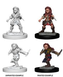 D&D Nolzurs Marvelous Unpainted Miniatures Halfling Female Rogue
