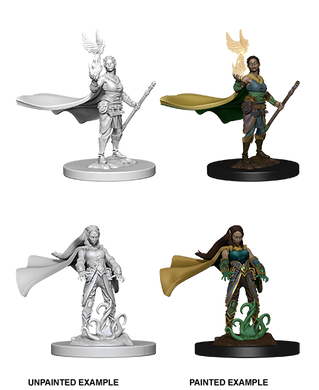 D&D Nolzurs Marvelous Unpainted Miniatures Elf Female Druid