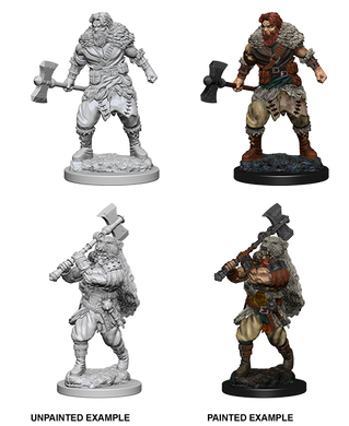 D&D Nolzurs Marvelous Unpainted Miniatures Human Male Barbarian