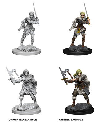 D&D Nolzurs Marvelous Unpainted Miniatures Human Female Barbarian