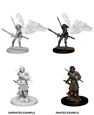 D&D Nolzurs Marvelous Unpainted Miniatures Aasimar Female Paladin