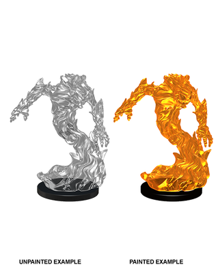 Pathfinder Deep Cuts Unpainted Miniatures Medium Fire Elemental