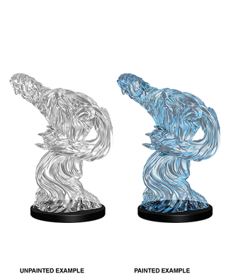 Pathfinder Deep Cuts Unpainted Miniatures Medium Water Elemental