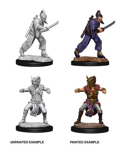 D&D Nolzurs Marvelous Unpainted Miniatures Male Human Monk