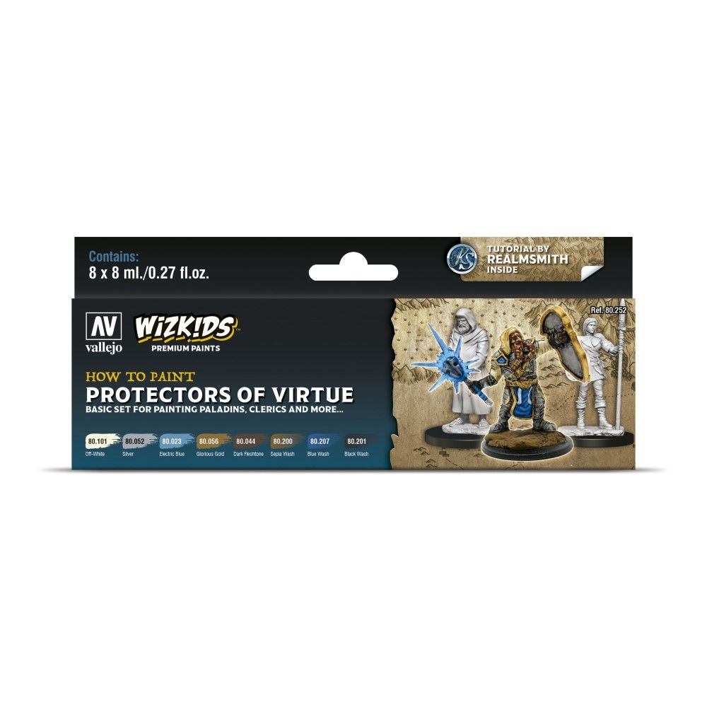 Wizkids by Vallejo: Protectors of Virtue