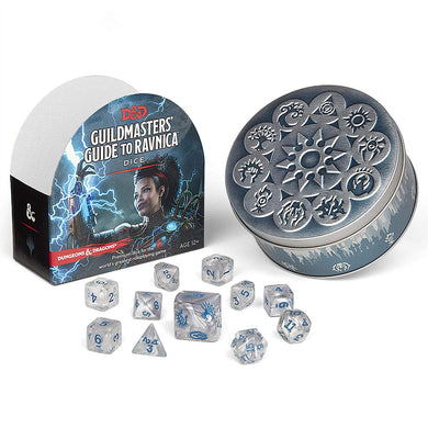 D&D Guildmasters Guide to Ravnica Dice Set