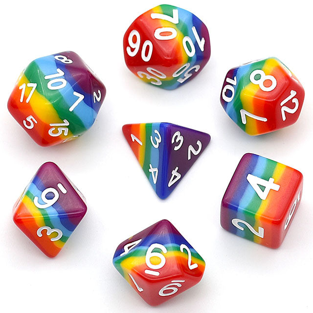 Udixi: 7 Layer Rainbow Dice