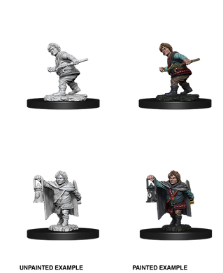 D&D Nolzurs Marvelous Unpainted Miniatures Male Halfling Rogue