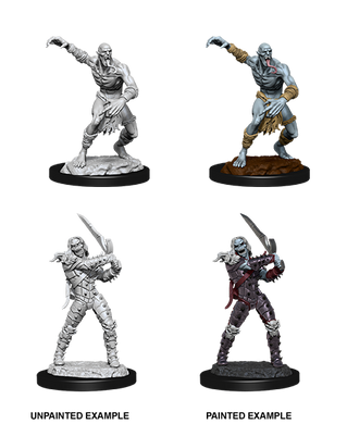 D&D Nolzurs Marvelous Unpainted Miniatures Wight and Ghast