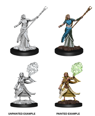 D&D Nolzurs Marvelous Unpainted Miniatures Female Elf Sorcerer