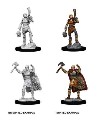 D&D Nolzurs Marvelous Unpainted Miniatures Female Human Barbarian