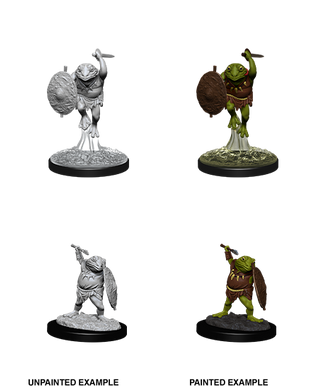 D&D Nolzurs Marvelous Unpainted Miniatures Bullywug