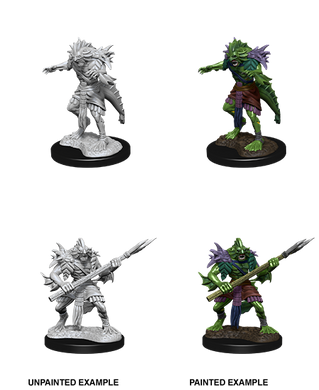 D&D Nolzurs Marvelous Unpainted Miniatures Sahuagin