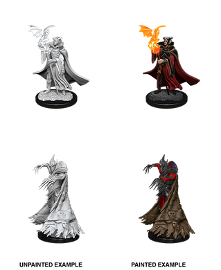 Pathfinder Deep Cuts Unpainted Miniatures Cultist & Devil