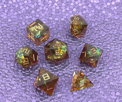 Afterimage Sharp Edged Dice