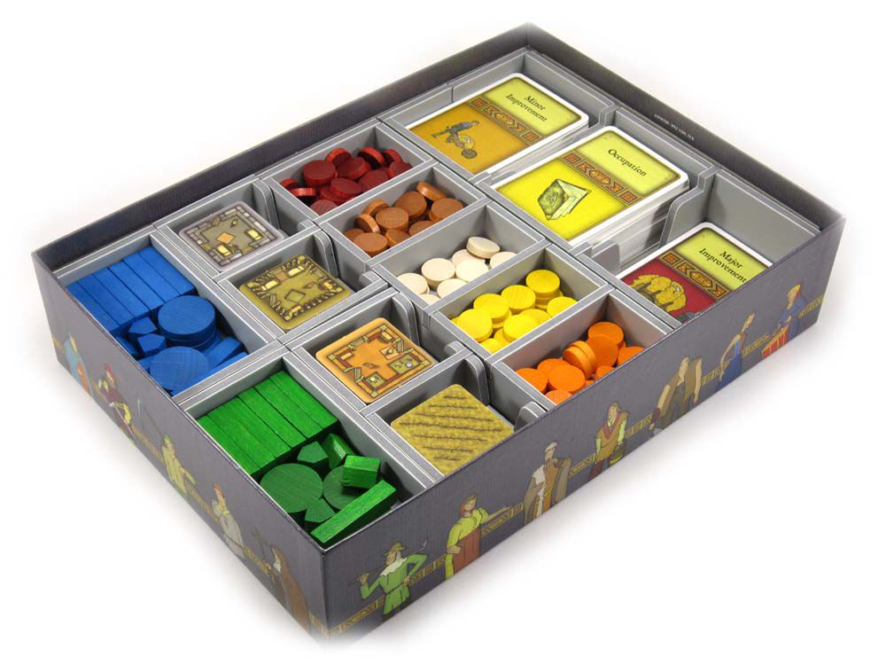 Folded Space Game Inserts - Agricola
