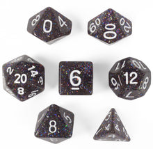 Load image into Gallery viewer, Sparklier Vomit Set of 7 Polyhedral Dice