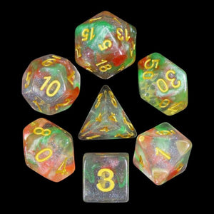 HD Dice Luminous Tectonic Break Dice Set