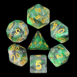 HD Dice Luminous Venom Dice Set