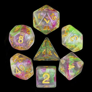 HD Dice Luminous Dragon's Breath Dice Set