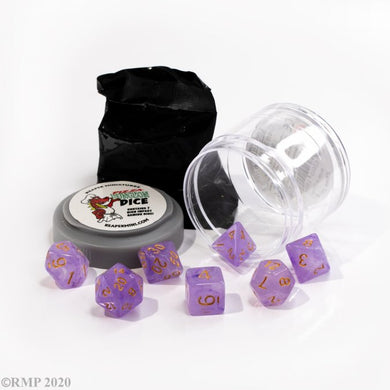 Reaper: Lucky Dice - Gem Purple (Pizza Dungeon Dice)