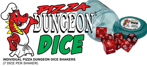 Reaper: Lucky Dice - Gem White (Pizza Dungeon Dice)