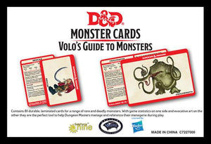 D&D Spellbook Cards: Volo's Guide to Monsters