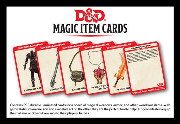 D&D Spellbook Cards: Magic Items (292 Cards)