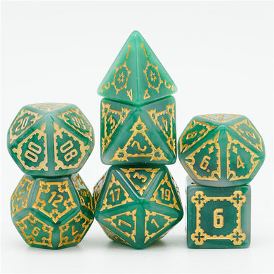 Green Huge Castle Dice