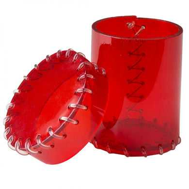 Age of Plastic Dice Cup - Red